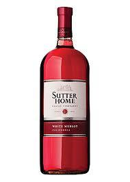 Sutter Home White Merlot 187ml